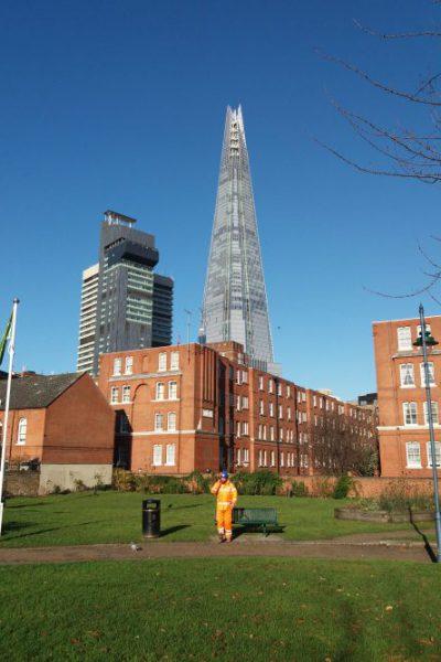 Gebäude in London