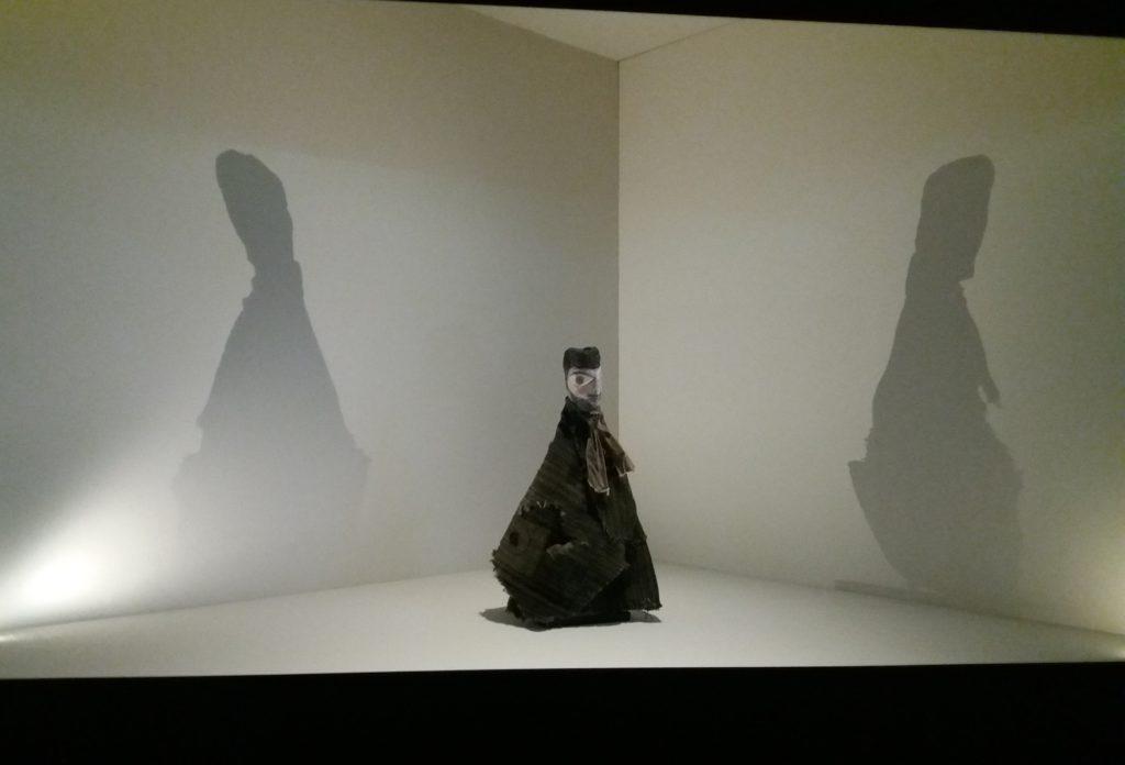 Handpuppe von Paul Klee aus der Ausstellung in der Pinakothek der Moderne