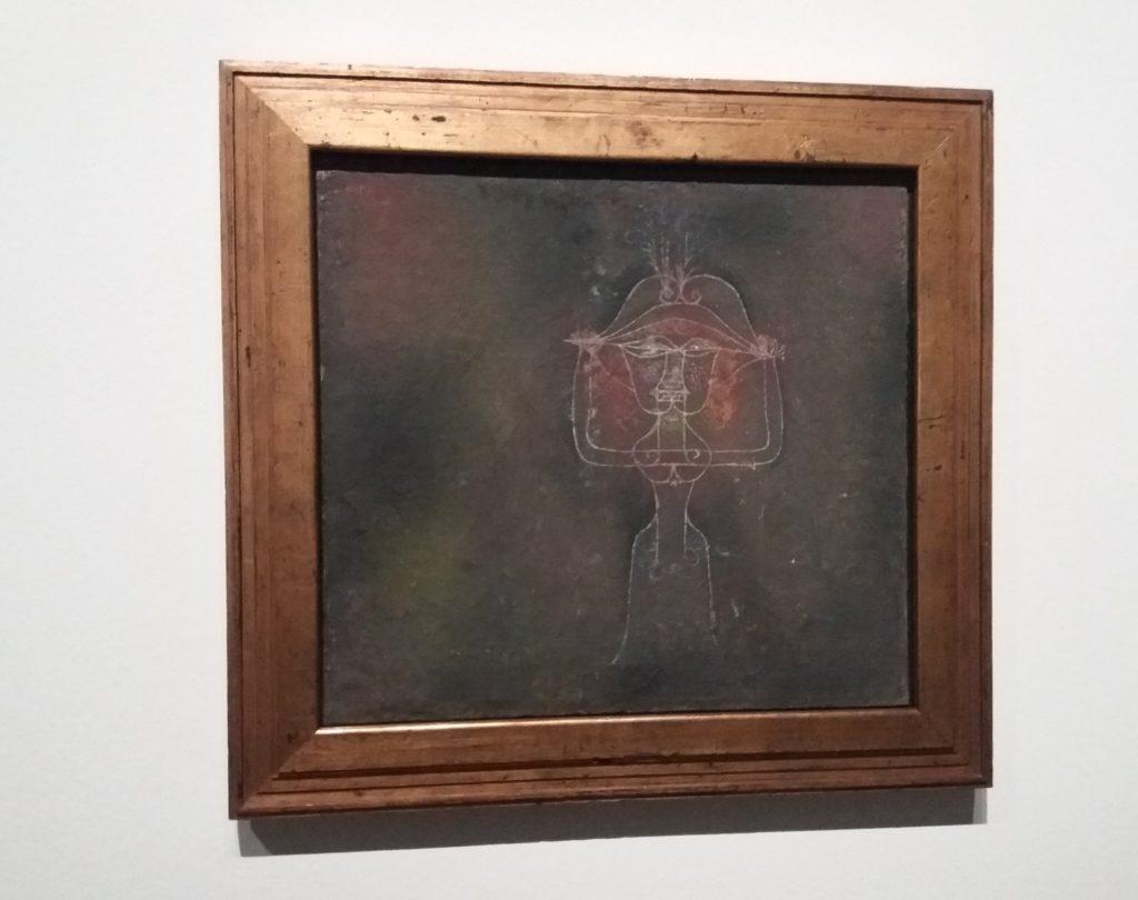 Paul Klee, Sängerin der komischen Oper 1927,10 Pinakothek der Moderne